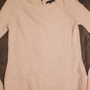 American Eagle pink sweater small